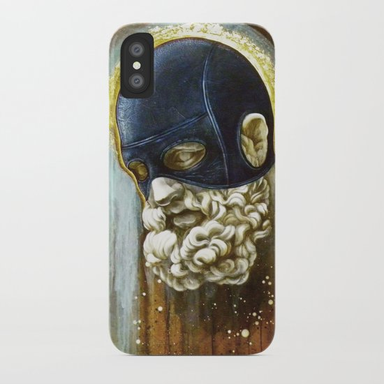 """Masked Hercules"" iPhone Case"
