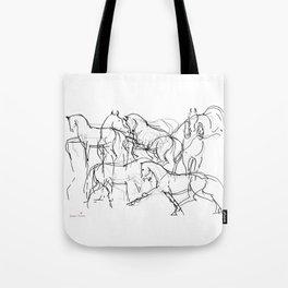 Horses (Movement) Tote Bag