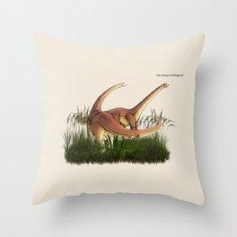 SORE THROAT! Throw Pillow