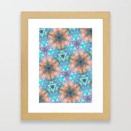 Pastel Opal Framed Art Print