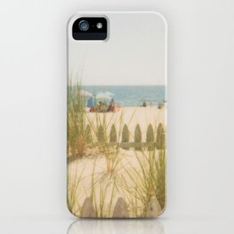 Sand Dunes Summer iPhone Case