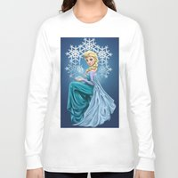 elsa Long Sleeve T-shirts featuring Elsa by toibi