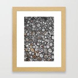 The stack Framed Art Print