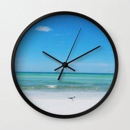 Honeymoon Island Wall Clock