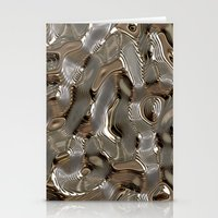 metallic Stationery Cards featuring Metallic by LoRo  Art & Pictures