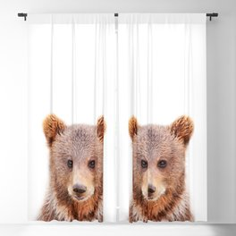 Baby Bear, Baby Animals Art Print By Synplus Blackout Curtain