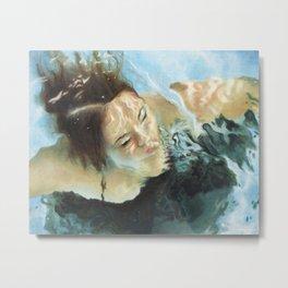 Mari Underwater Metal Print