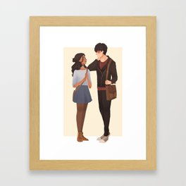 zutara Framed Art Print