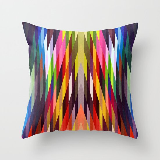 Heavy words 03. Throw Pillow