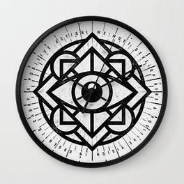 Positive Vision Wall Clock