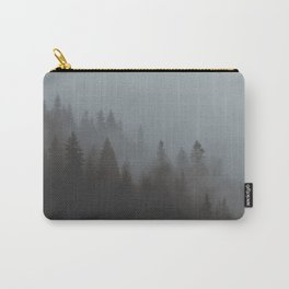 Foggy Trees Carry-All Pouch