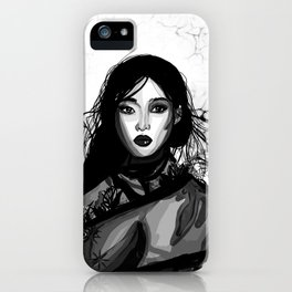 Kim Sung Hee iPhone Case