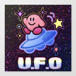 Kirby UFO Canvas Print