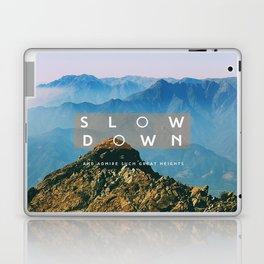Great heights Laptop & iPad Skin