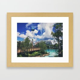 The Springs Framed Art Print