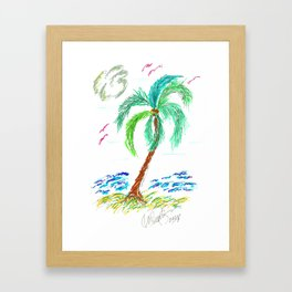 """Beach Afternoon"" Framed Art Print"