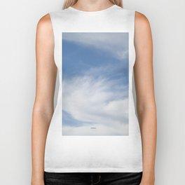 Just Clouds #3 Biker Tank