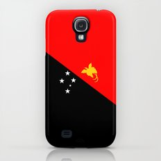 Papua New Guinea country flag Galaxy S4 Slim Case