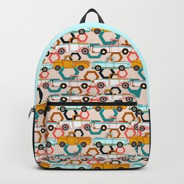 Summer Vintage Trucks Backpack
