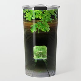 In And Out Of Bridge Travel Mug