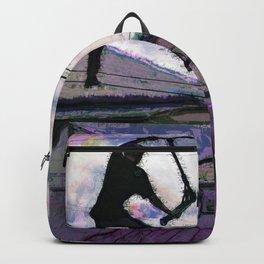 Deck Grab Champion - Stunt Scooter Art Backpack