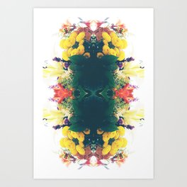 Summer Bouquet Psychedelia 2012 Art Print