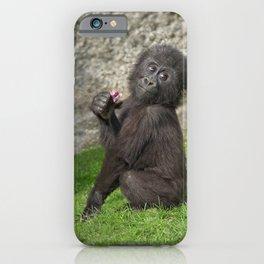 Cute Baby Gorilla iPhone Case