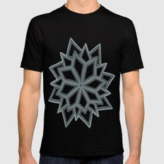 Just Another Flower 2 MEDIUM Mens Fitted Tee Black