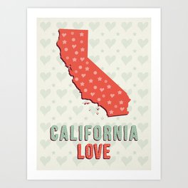 California Love Art Print
