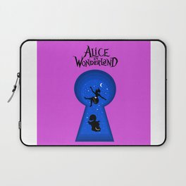 Alice In Wonderland - pink Laptop Sleeve