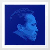 arnold Art Prints featuring Arnold Schwarzenegger by Vector Vectoria