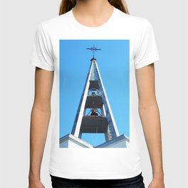 Bell tower church Belfry  T-shirt