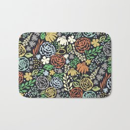 Dark Garden Bath Mat