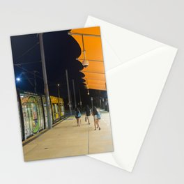 Light Rail Station Stationery Cards