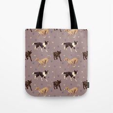 Rescue Dogs Pattern Tote Bag