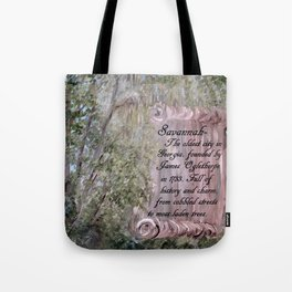 Savannah Scroll Tote Bag