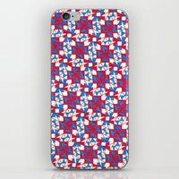 patriotic iPhone & iPod Skins featuring Patriotic  by Meaghan Monroe