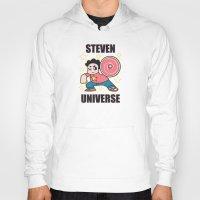 steven universe Hoodies featuring Steven by ZoeStanleyArts