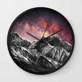 TRG Mountain Universe Wall Clock