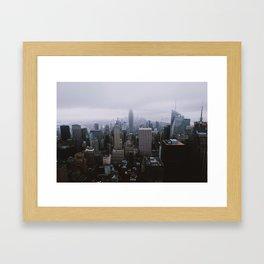 New York City - Top of the Rock Framed Art Print