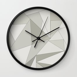 FRAGMENTS LIGHT Wall Clock