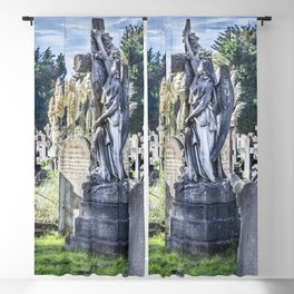 Cemetery Headstone Blackout Curtain