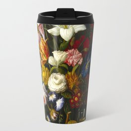 Victorian Bouquet by Severin Roesen Travel Mug