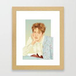 poetic beauty [jaehyun nct] Framed Art Print