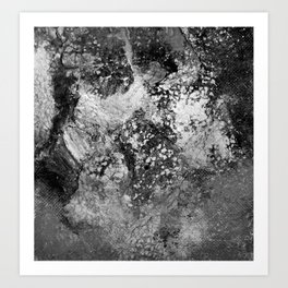 Volcano Calm Art Print