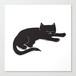 Happy Kitty Canvas Print
