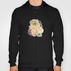 Yellow Floral Watercolor Hoody
