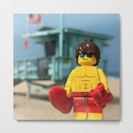 Lifeguard Metal Print