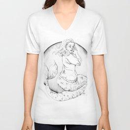 LUCY mermaid Unisex V-Neck