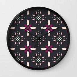 Angsana Pink Narcissus Wall Clock